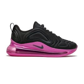 Nike Air Max 720 Zwart-Roze AQ3196-017 side main
