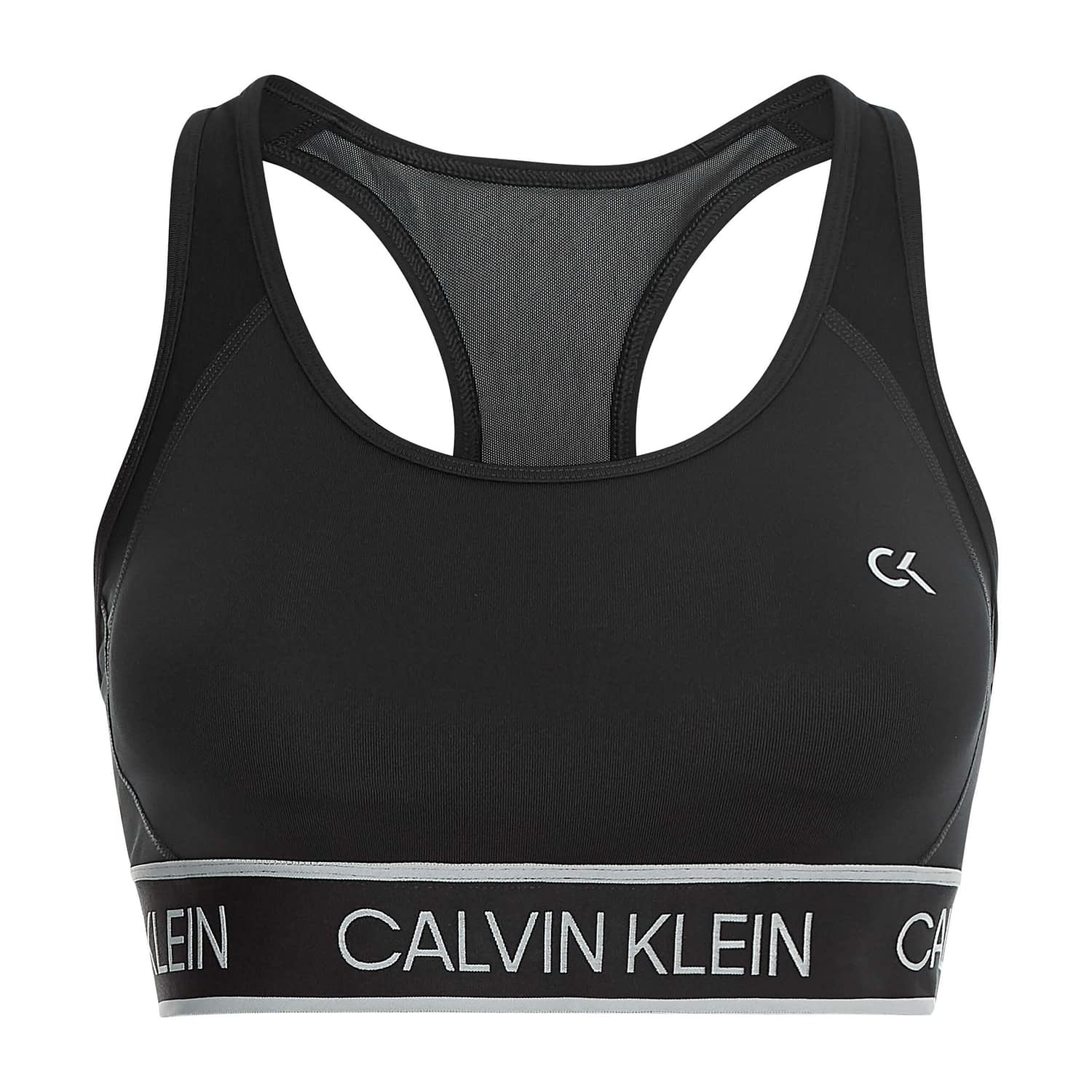 Calvin Klein Medium Support Bra Zwart 00GWS1K143-007 main