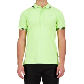 Airforce Polo Double Stripe Groen HRM0655-Y024-901 front main