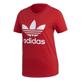 Adidas Trefoil T-Shirt FM3302 Rood front
