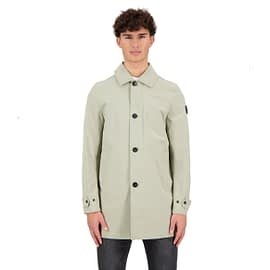 Airforce Trenchcoat Heren Silver Sage FRM0522-912 model front main