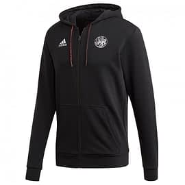 Adidas Ajax Full-Zip Hooded Sweatvest FI5203 front main