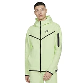 Nike Tech Fleece Vest Lichtgroen CU4489-383 model front main