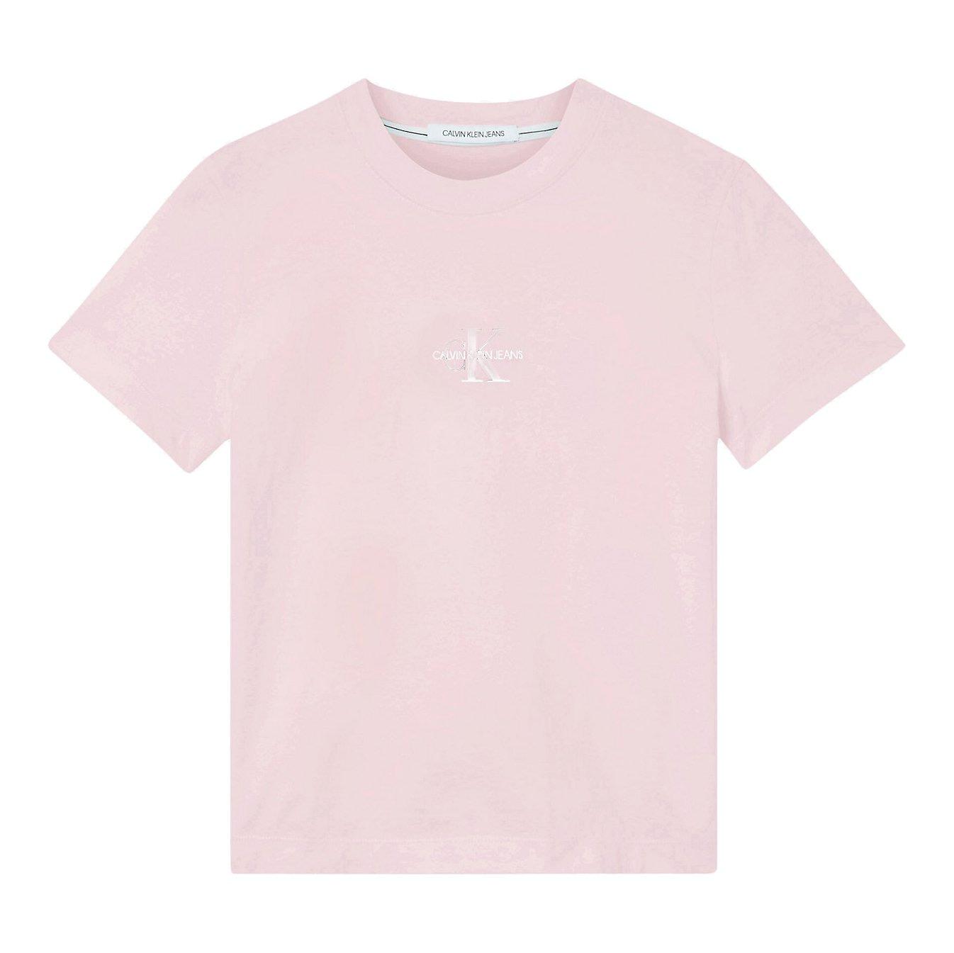 Calvin Klein Monogram Logo T-Shirt Roze J20J215497-TN9 main