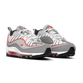 Nike Air Max 98 Grijs-Rood CI3693 pair