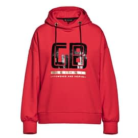 Goldbergh Fiza Hooded Top Rood front main