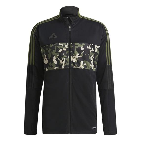 Adidas Tiro Trainingsjack Zwart-Camo GU8186 main