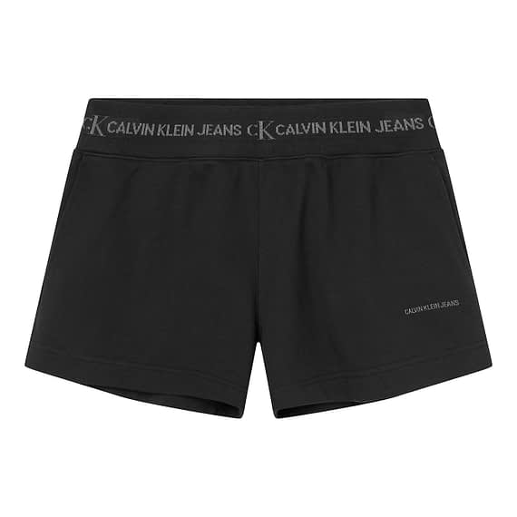 Calvin Klein Trim Knit Short Zwart J20J215561-BEH main