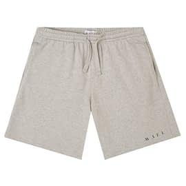 Mael Name Logo Jogging Short Grijs front main