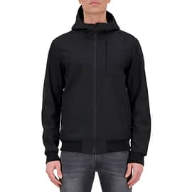 Airforce Softshell Jacket Zwart HRM0575-901 model front