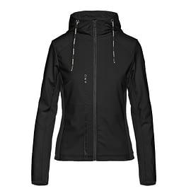 Goldbergh Jabet Hooded Jacket Zwart front main
