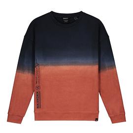 Nik&Nik August Sweater Rood-Blauw front main